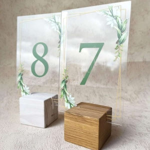 "Номер на стол ""Зелень"""